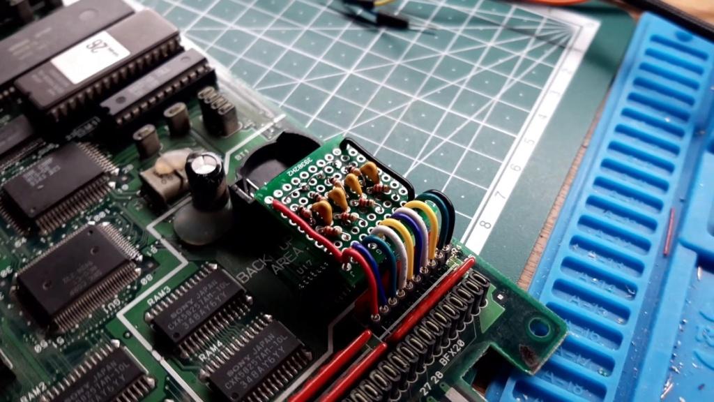 [WIP 100%] Réparation d'un slot MV-1FS en erreur Z80 - Création d'une cartouche de test audio Videoc29
