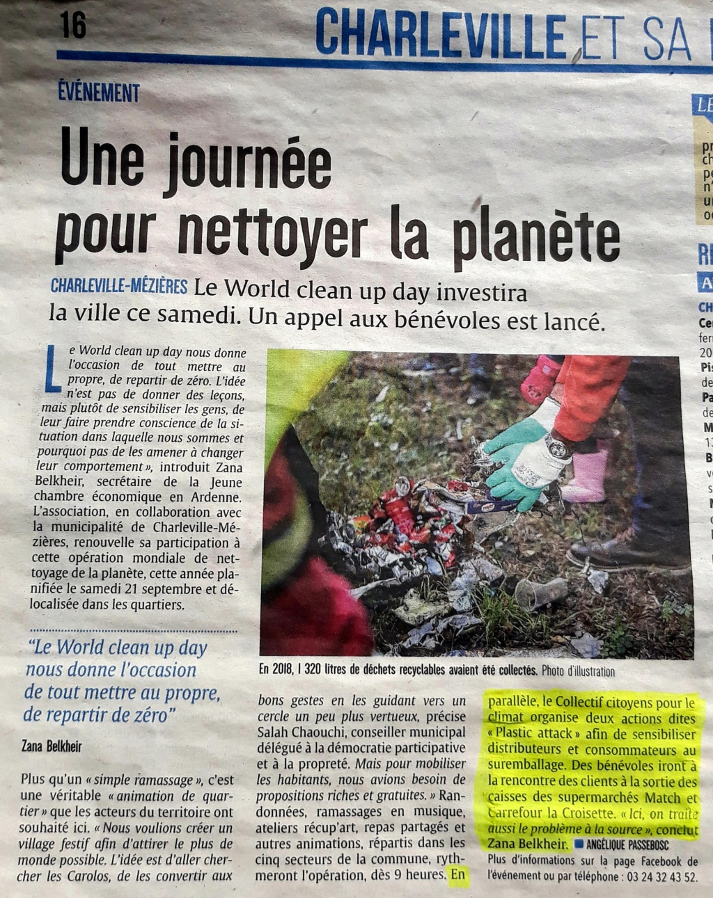21/09/19 des plastics attacks en co-organisation avec le World Clean Up Day Ardennes  - Page 2 20190913