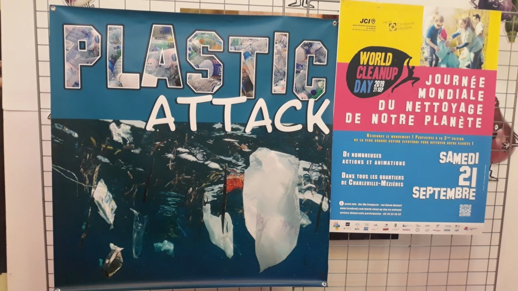 21/09/19 des plastics attacks en co-organisation avec le World Clean Up Day Ardennes  - Page 2 70502710