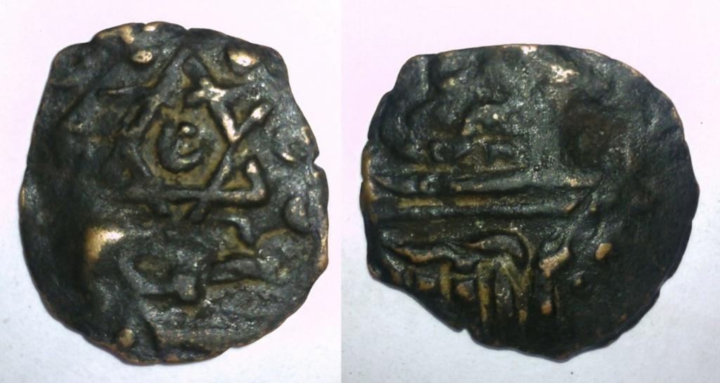 Moneda hexagrama y luna Oh1nvt12