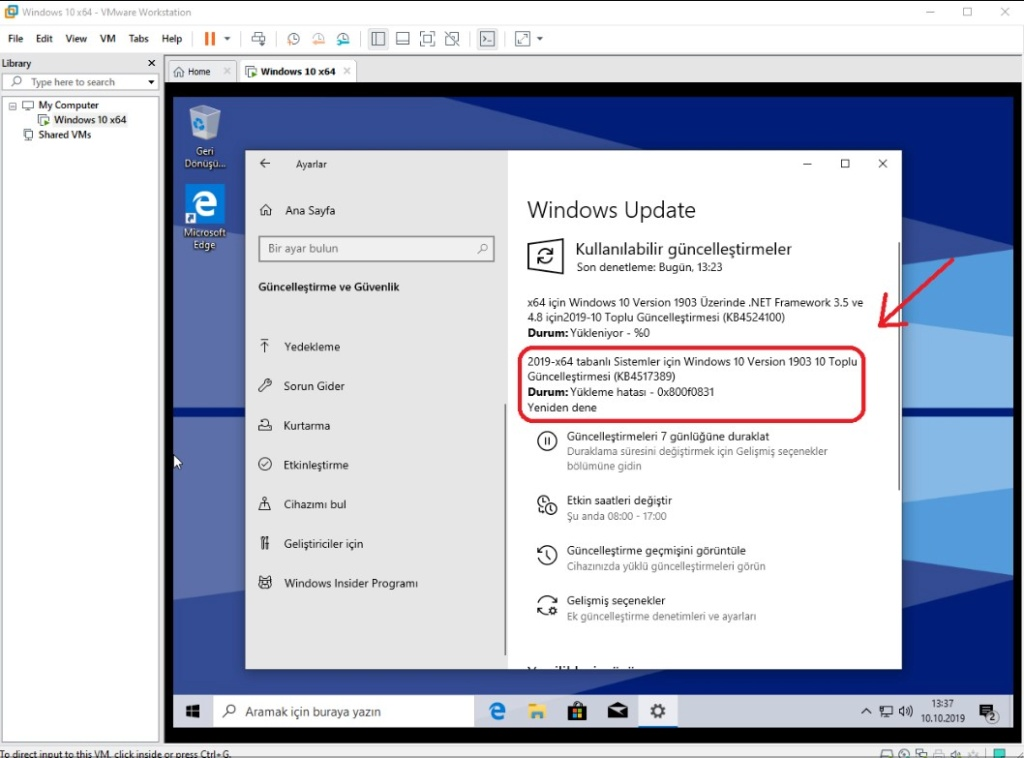 Winreducer windows 10 update error help please!! Ek_azk12