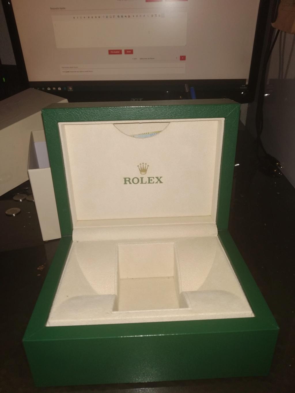 Memorabília do mundo dos relógios - Caixas antigas Role_210