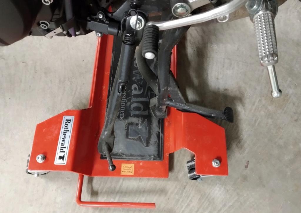 Avis accessoire : petit Range-moto Rothewald Rothew10