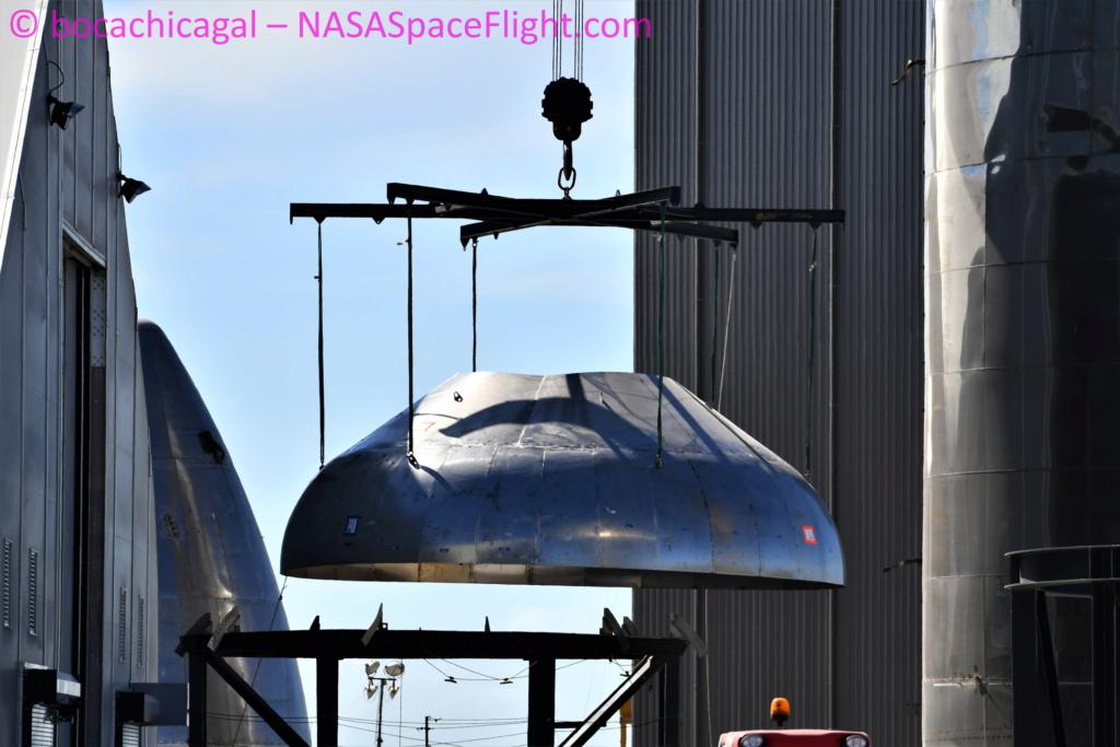 Starship SN8 (Boca Chica) (1/2) Dsc_3111