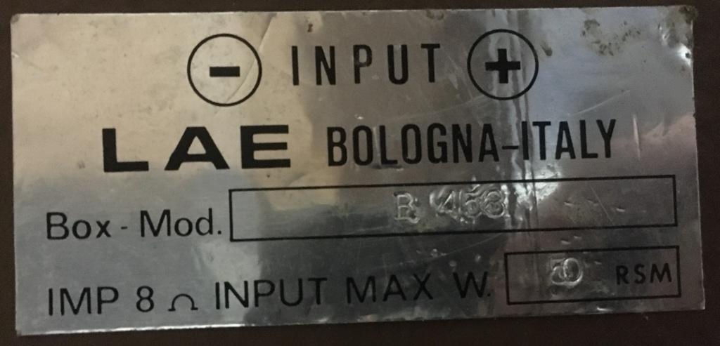 Sostituzione condesatori crossover LAE  B453 Img_7312
