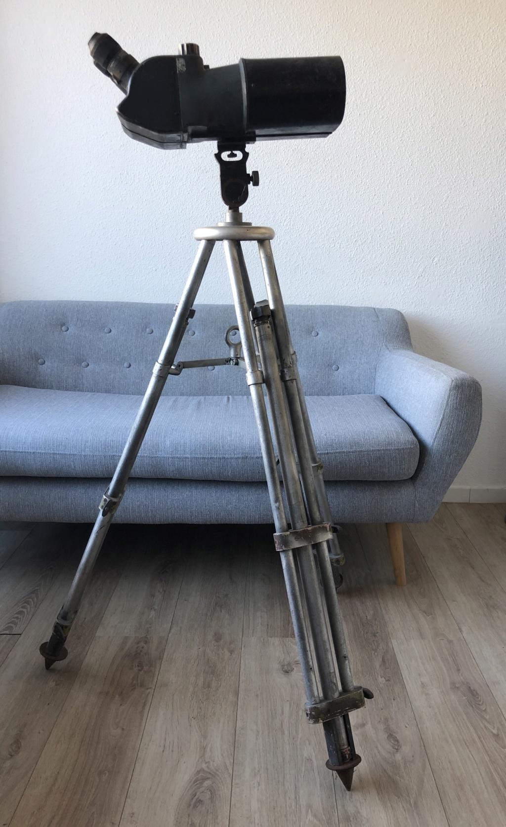 Télescope allemand : Doppel Fernrohr 25x105 4408d010