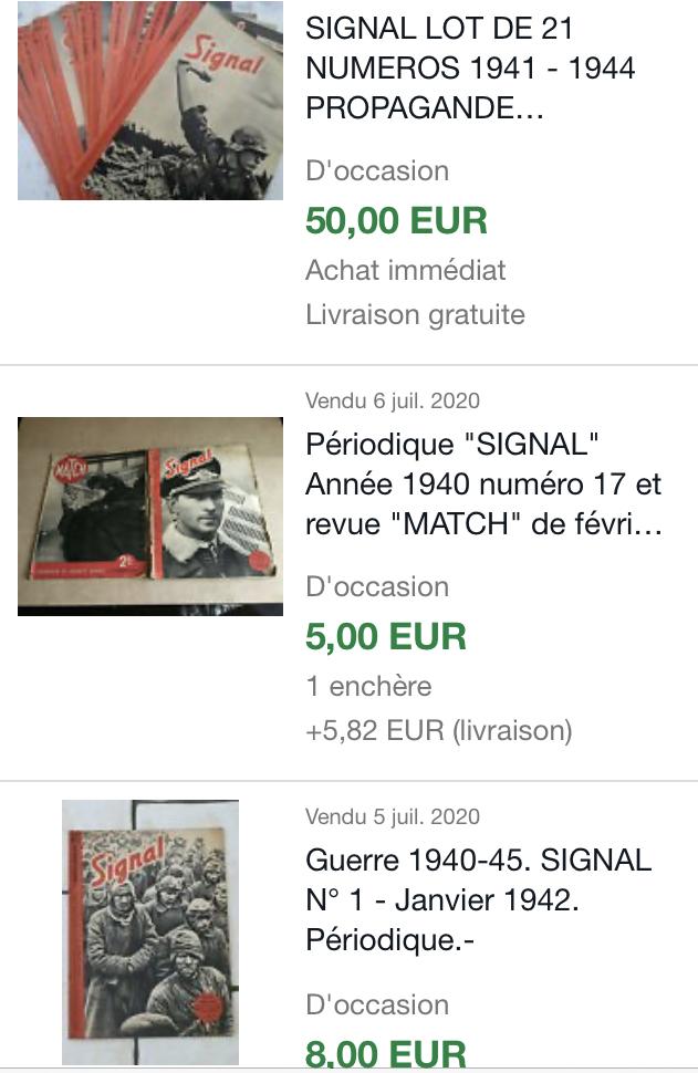 Revues Signal en Français - estimation 510f2e10