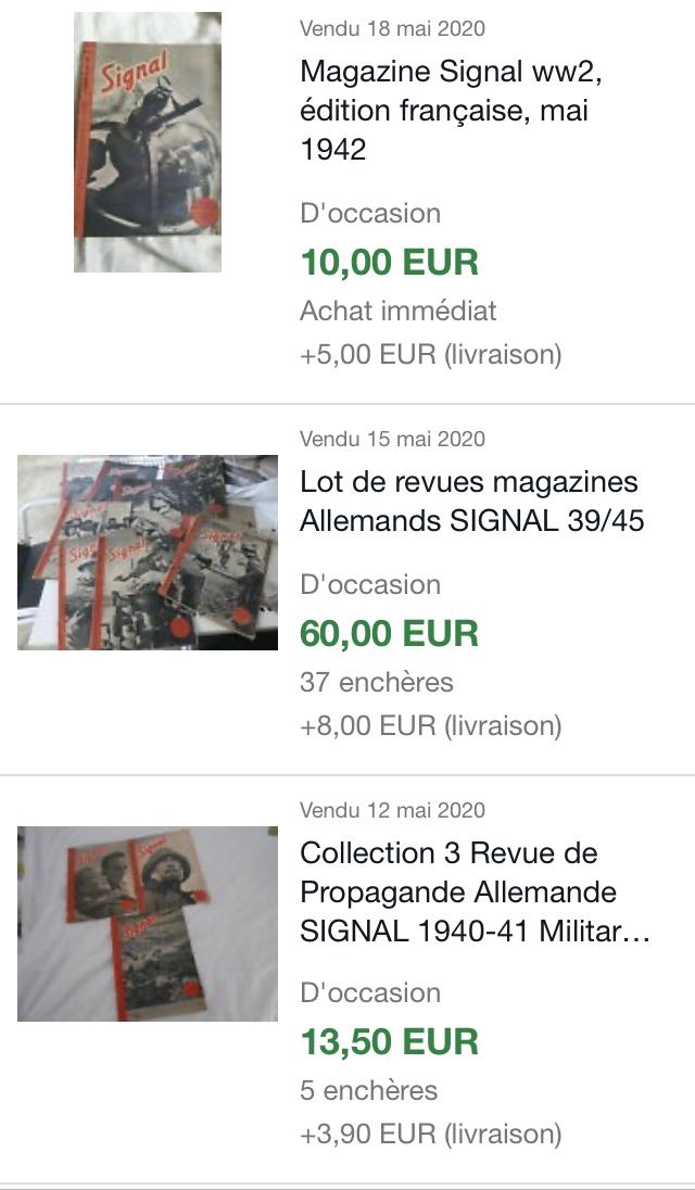 Revues Signal en Français - estimation 94acc110