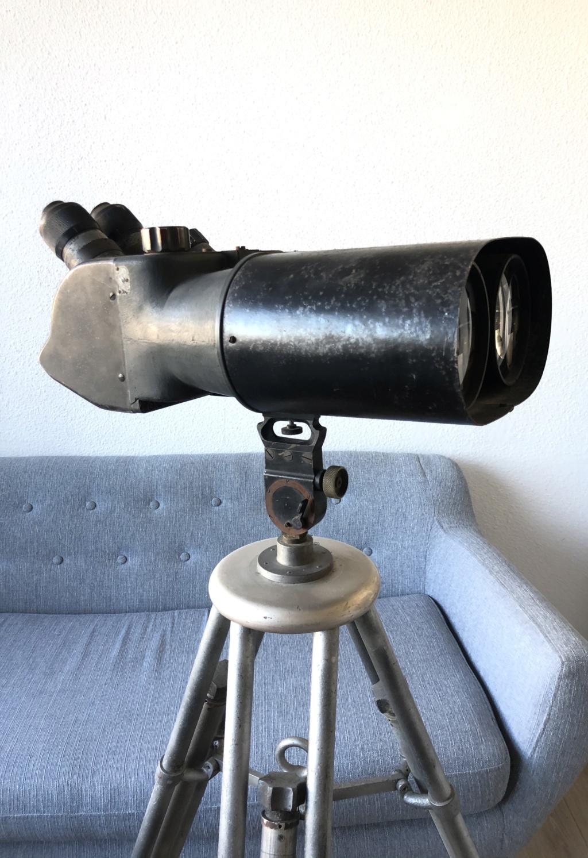 Télescope allemand : Doppel Fernrohr 25x105 B9778510