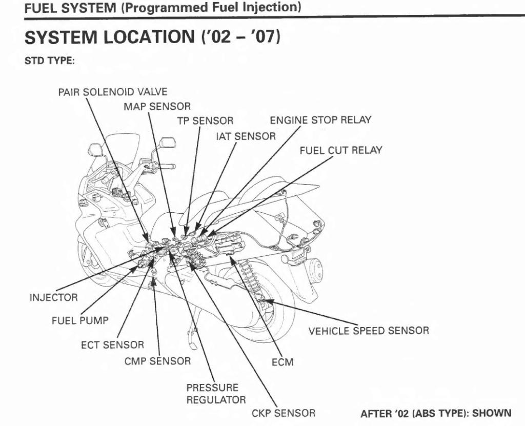 Location of fuel pump relay Fuel_s10