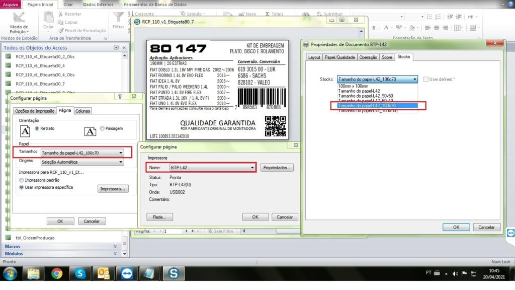 Configurar Impressão via VBA Config13