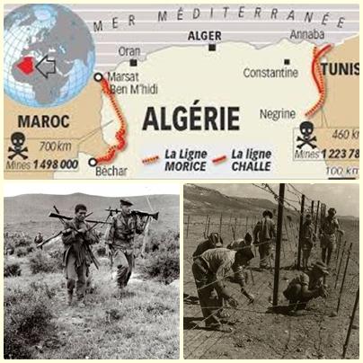 Les lignes Challe et Morice. Slimane Lagra Des10