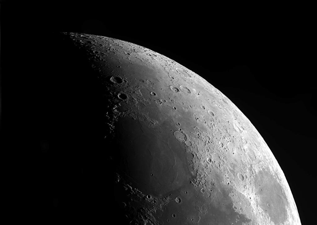 panoramiques de la lune au 6 ème jour de la nouvelle lune. Panora13