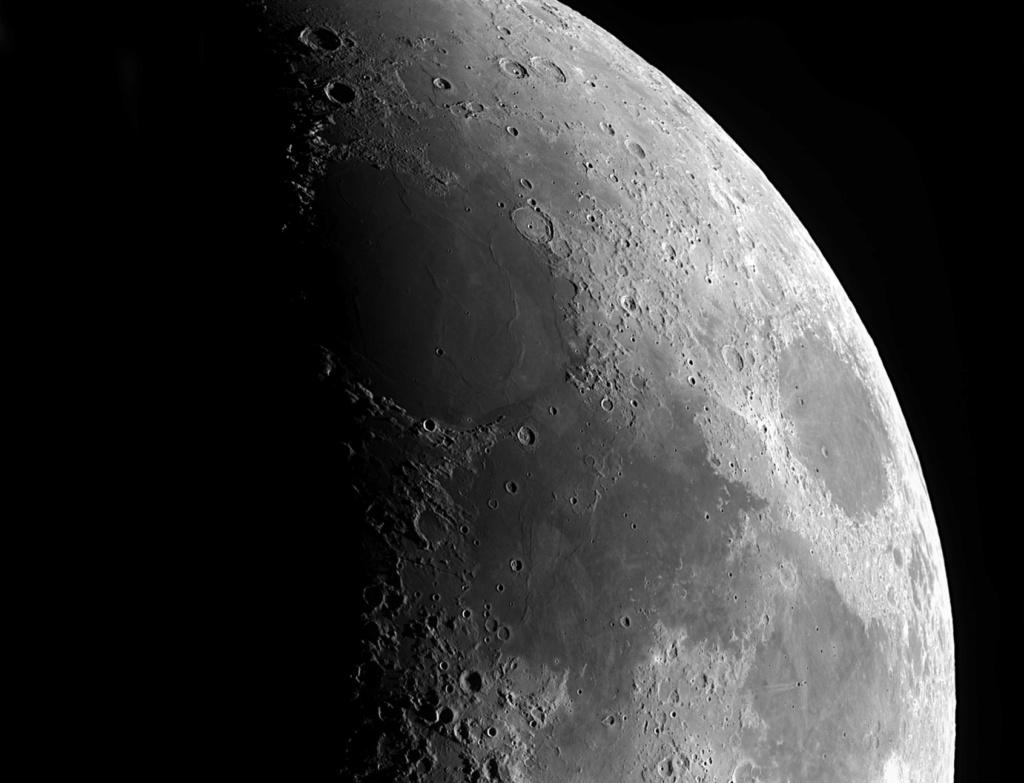 panoramiques de la lune au 6 ème jour de la nouvelle lune. Panora14