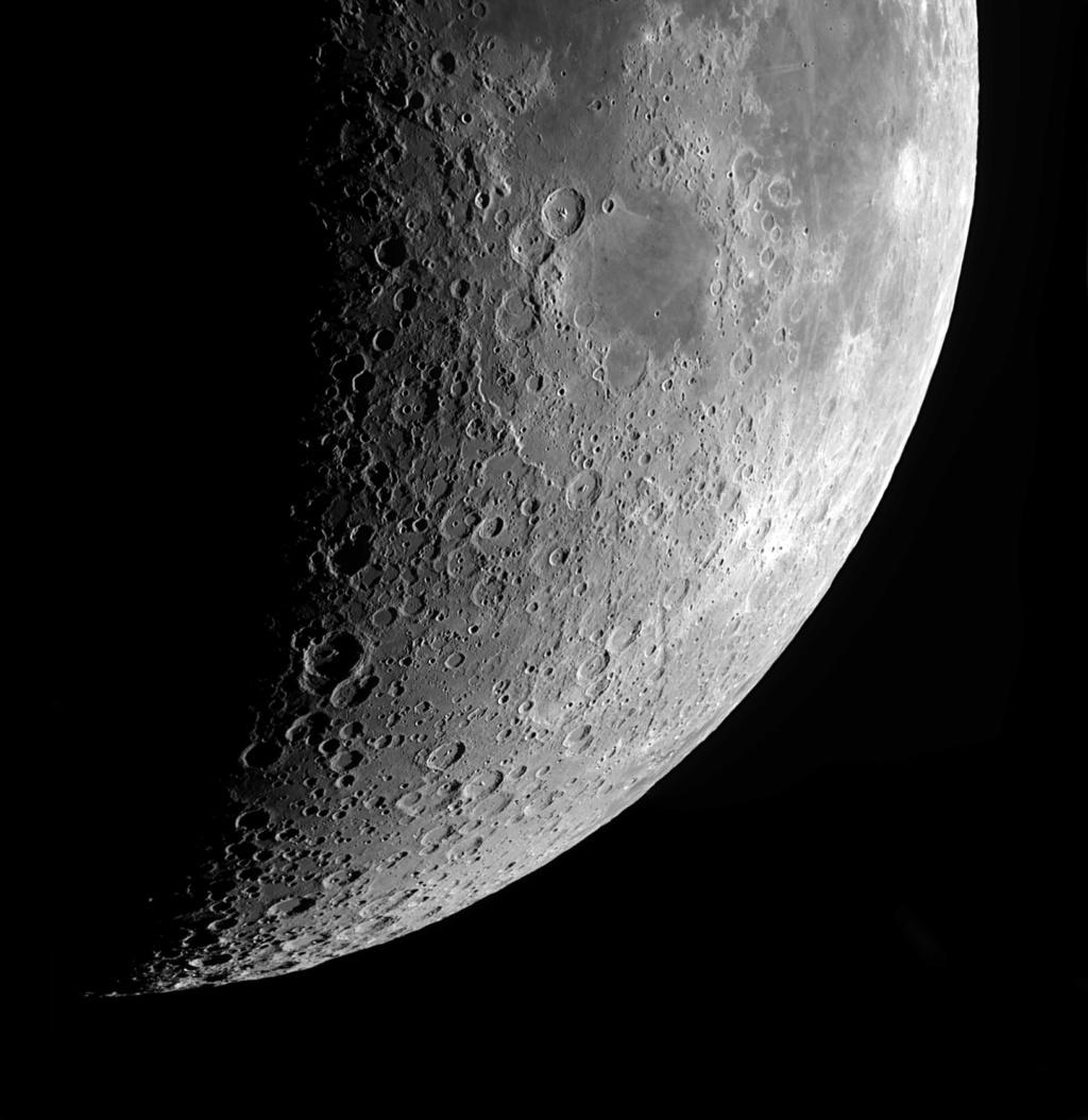 panoramiques de la lune au 6 ème jour de la nouvelle lune. Panora15