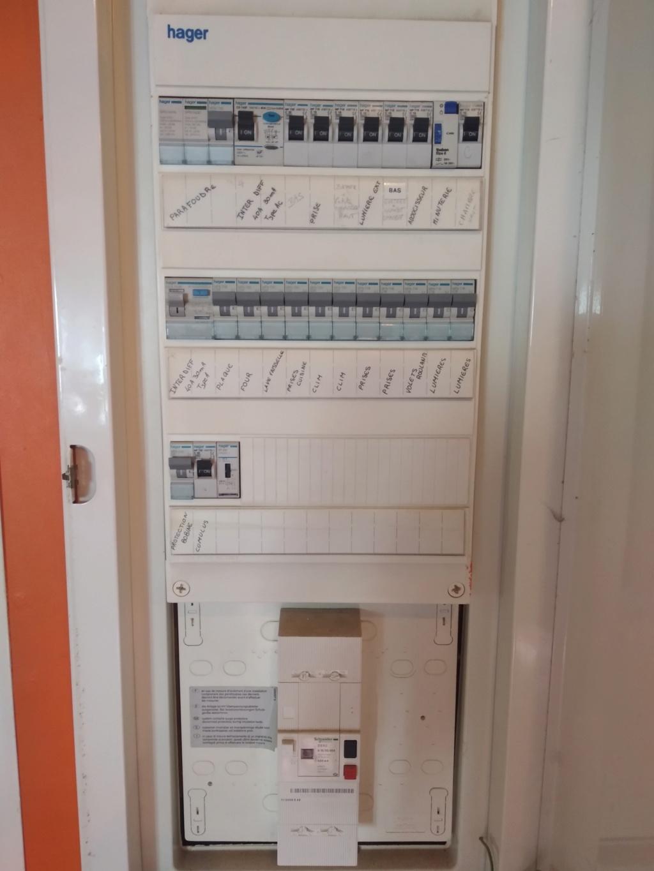 changement tableau électrique secondaire 15975010