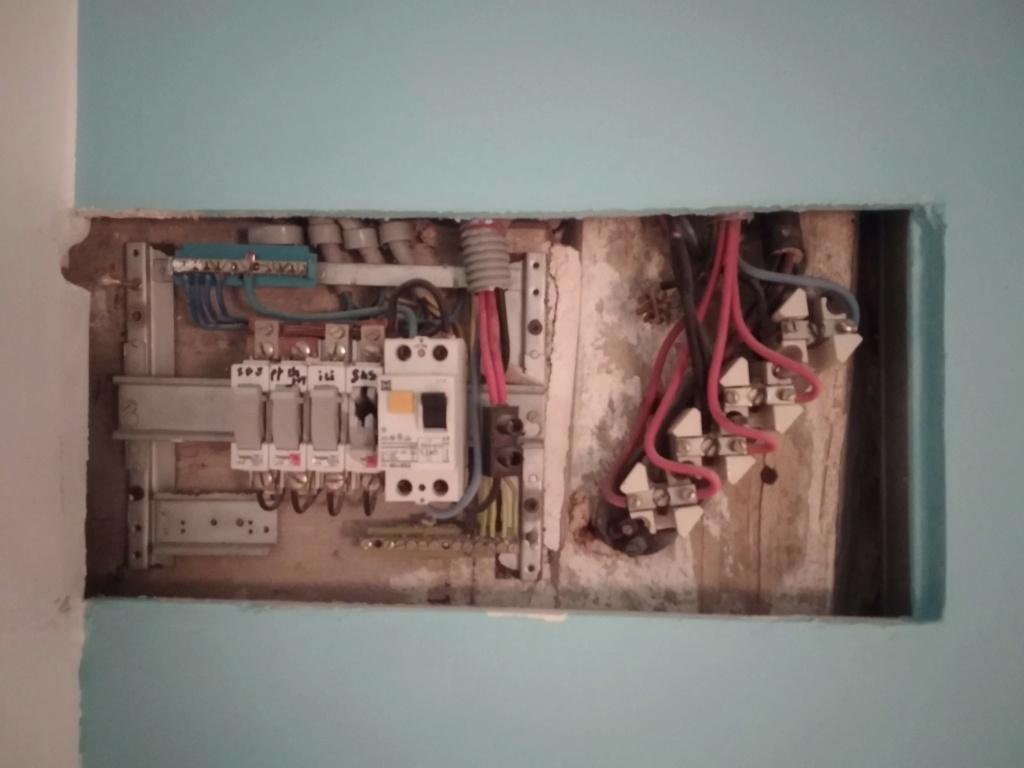 changement tableau électrique secondaire 310