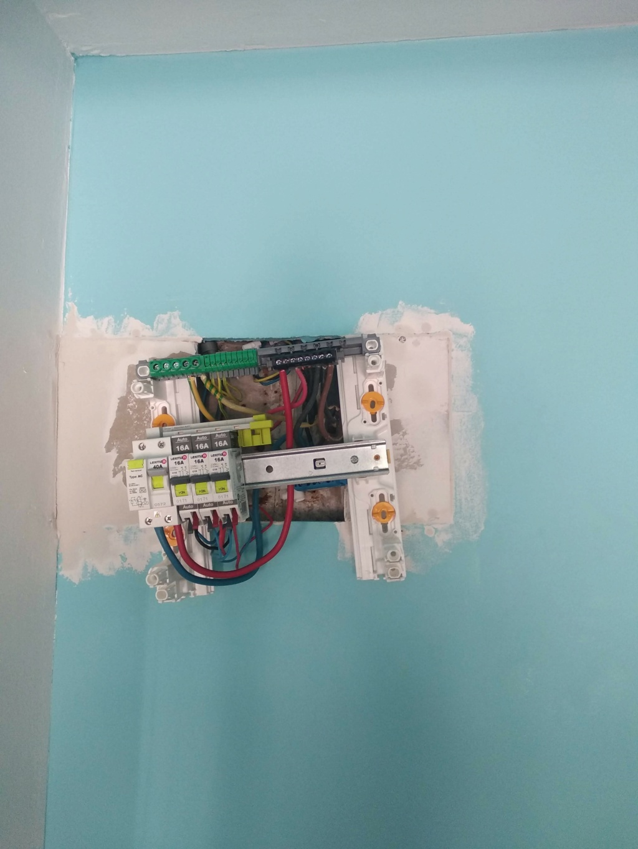 changement tableau électrique secondaire 910