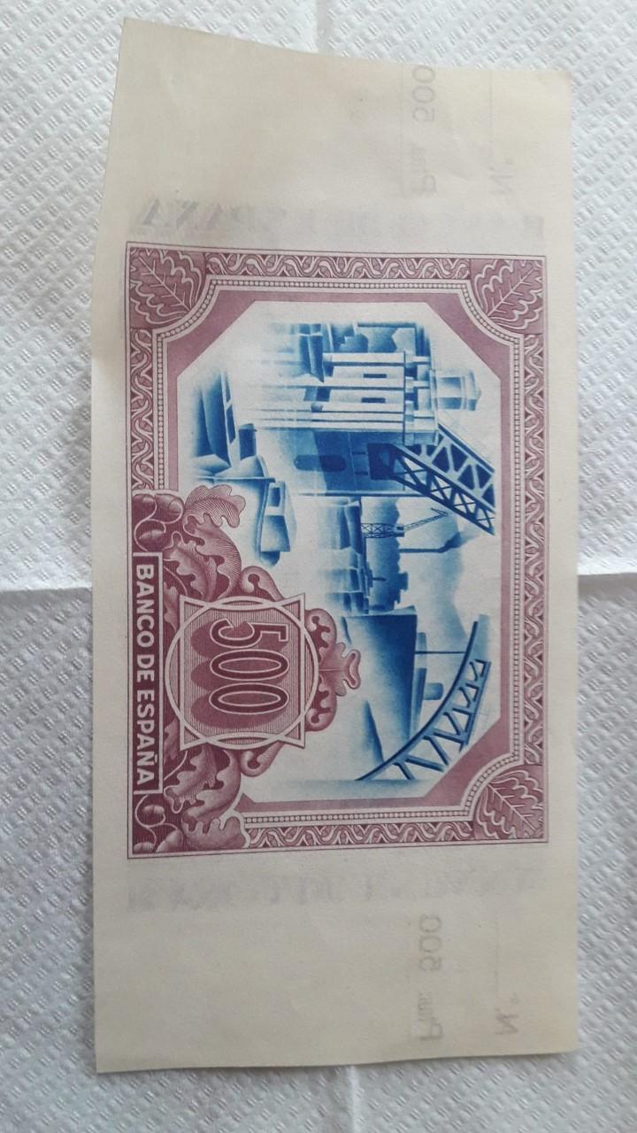 500 Pesetas 1937 (Banco de España Bilbao) Bilbao13