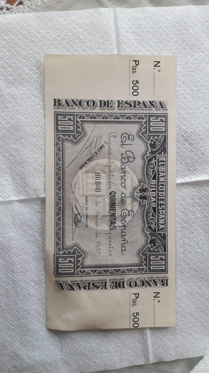 500 Pesetas 1937 (Banco de España Bilbao) Bilbao14