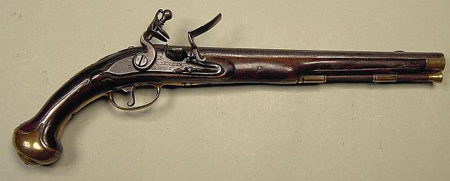 Pistolet à silex de Claude Niquet à Liège pré-reglementaires K640_114