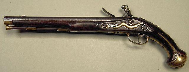 Pistolet à silex de Claude Niquet à Liège pré-reglementaires K640_115
