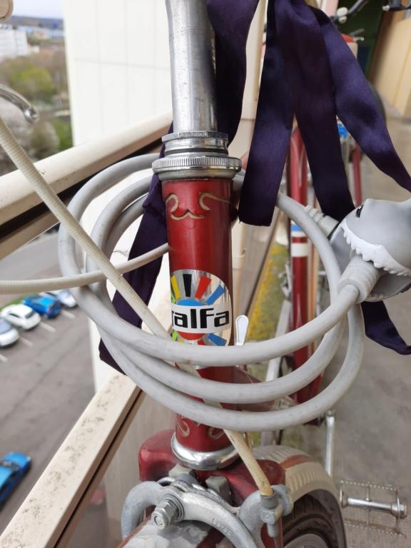 Informations vélo marque Galfa 20210418