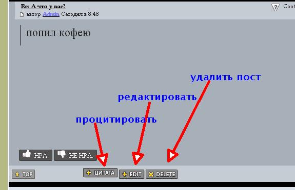 Пособие по форуму и кнопкам Clipbo16