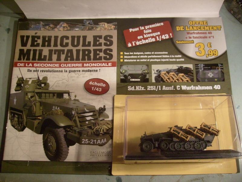 """retour de la serie """"véhicules militaires de la WWII au 43 eme"""" par Eaglemoss S7304412"""