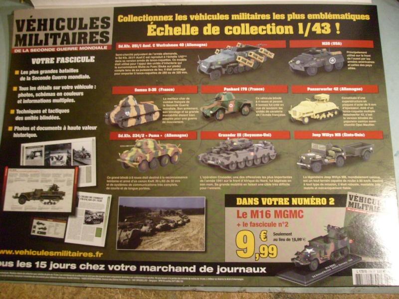 """retour de la serie """"véhicules militaires de la WWII au 43 eme"""" par Eaglemoss S7304413"""
