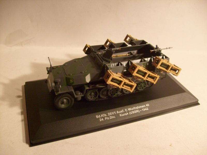"""retour de la serie """"véhicules militaires de la WWII au 43 eme"""" par Eaglemoss S7304414"""