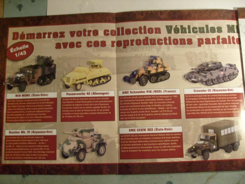 """retour de la serie """"véhicules militaires de la WWII au 43 eme"""" par Eaglemoss S7304426"""