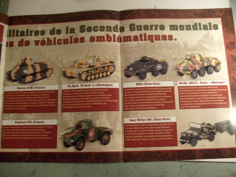 """retour de la serie """"véhicules militaires de la WWII au 43 eme"""" par Eaglemoss S7304427"""