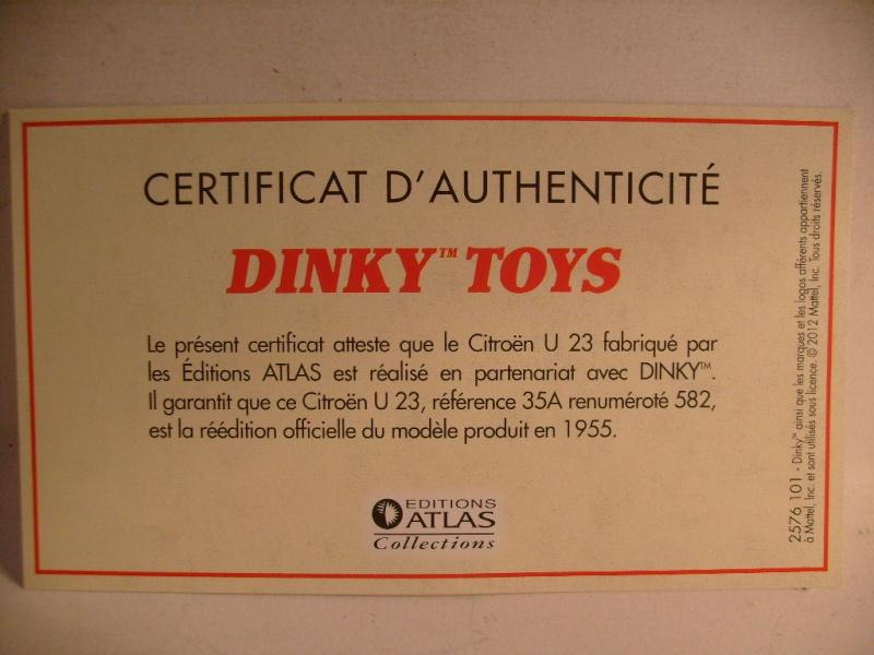 Citroen U 23 Dinky / Norev au 50 eme S7304617
