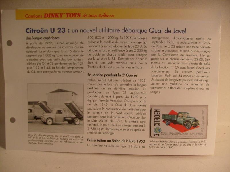 Citroen U 23 Dinky / Norev au 50 eme S7304619