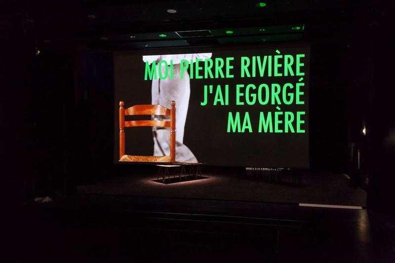 """""""Moi, Pierre Rivière, ayant égorgé ma mère , ma soeur et mon frère ..."""" 19620510"""