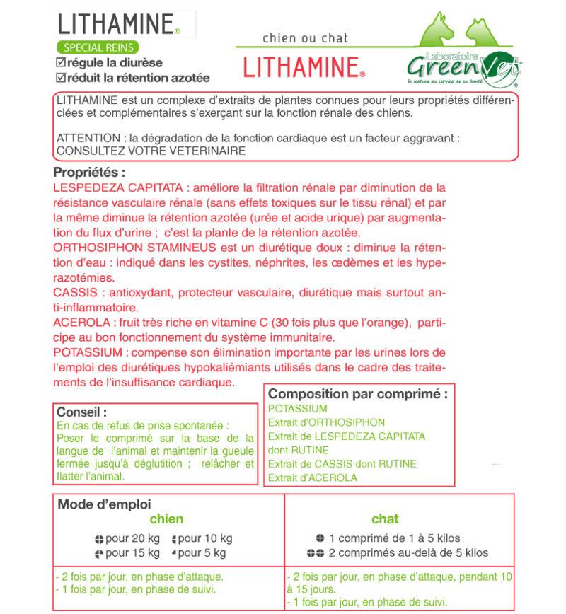 Compléments alimentaires pour le Soutien de la fonction rénale Litham10