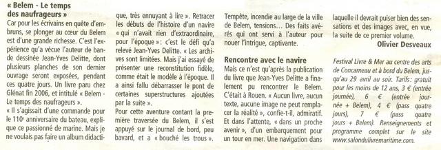 LE PORT DE CONCARNEAU - Volume 002 - Page 5 Belem_11