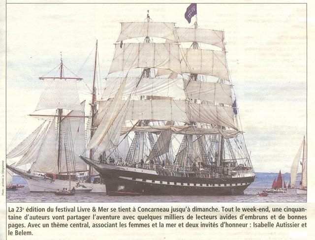 LE PORT DE CONCARNEAU - Volume 002 - Page 5 Belem_13