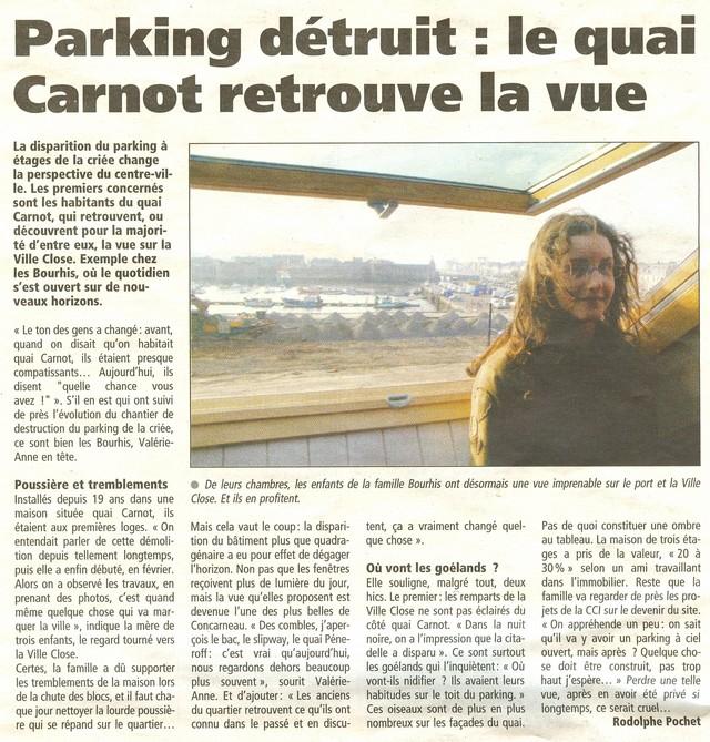 LES DERNIÈRES HEURES DU PARKING DE LA CRIÉE DE CONCARNEAU Numeri32