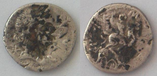 Denier fourée Aemilius Lepidus (114 o 113 aC) Denier10