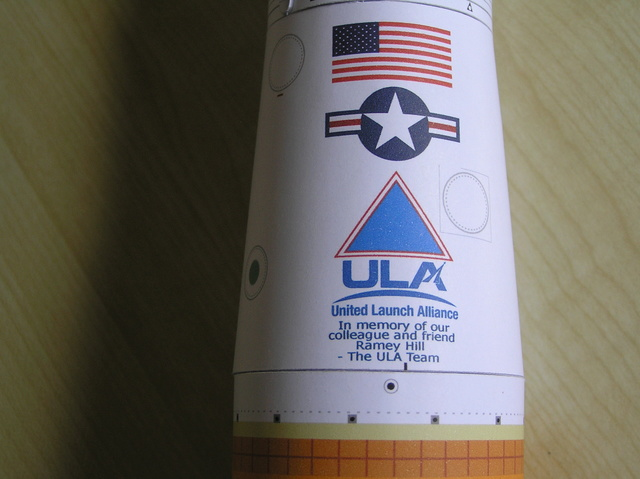 Delta IV Medium, USA, 1/100, papier P8260016