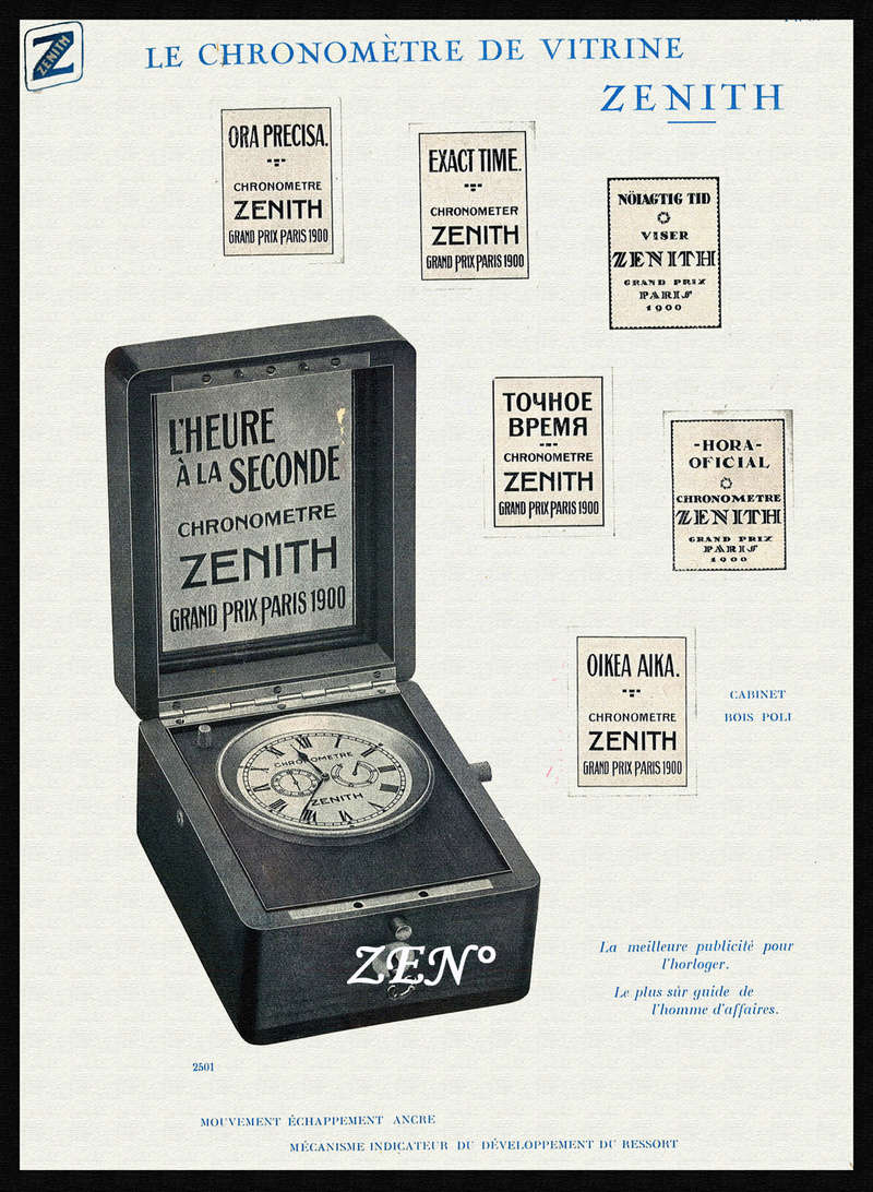 Chronomètres de bord , Chronomètres de vitrine  Chronm10