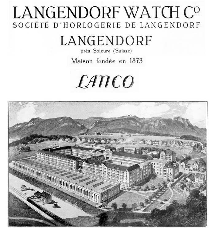 Langendorf Watch Company - Lanco  Lanco-11