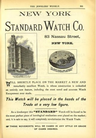 New York Standard Watch company New-yo13