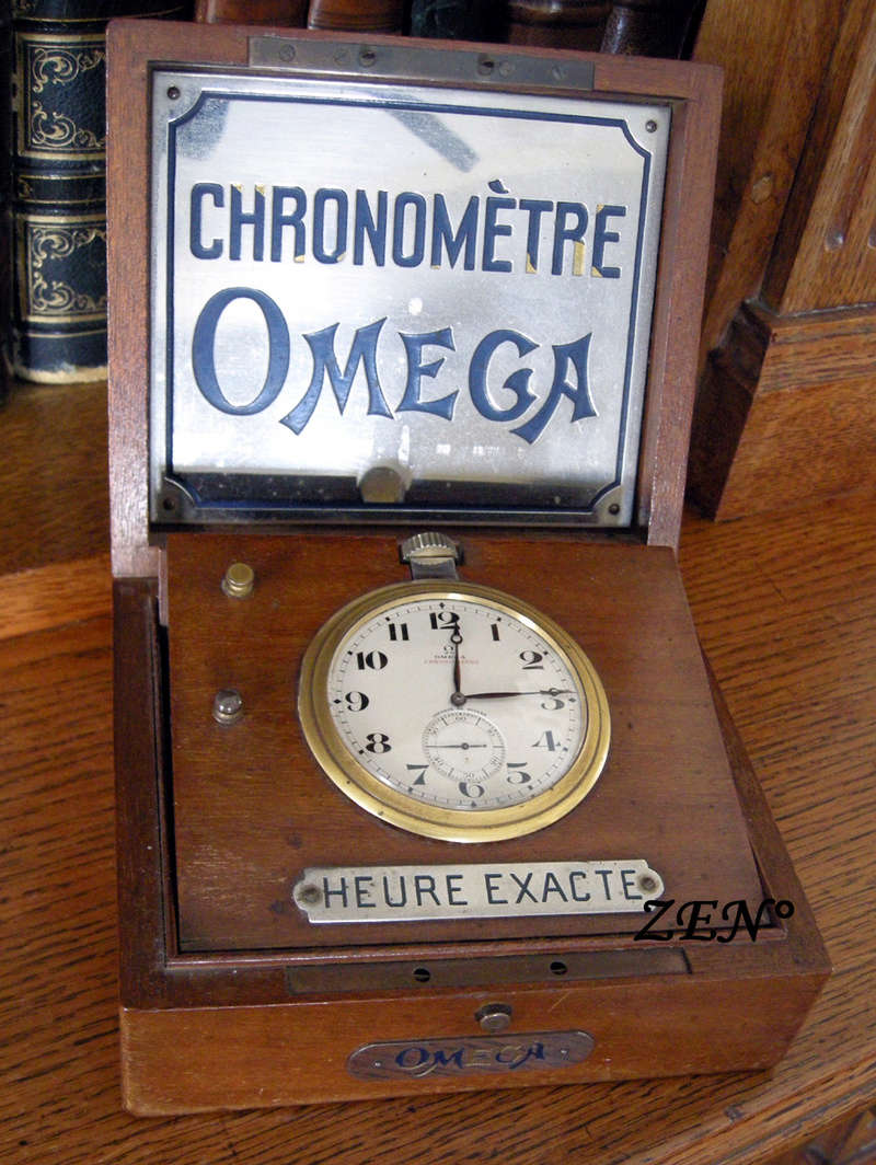 Chronomètres de bord , Chronomètres de vitrine  Omega_16
