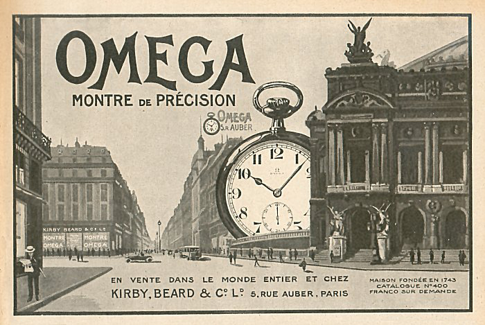 Chronomètres de bord , Chronomètres de vitrine  Omega_19