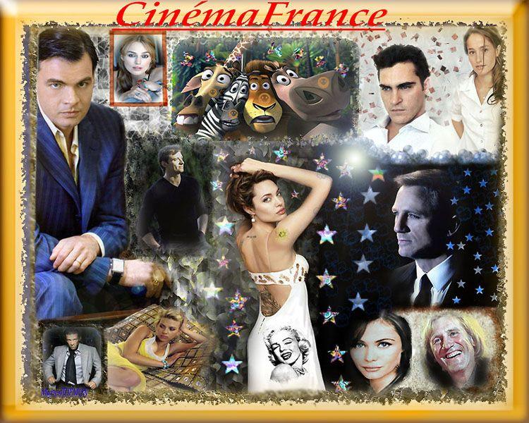 Les étoiles du cinéma