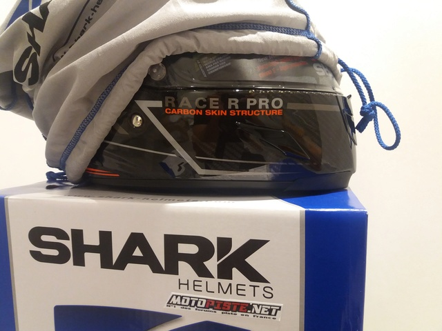 [ESSAI] Casque SHARK Race R PRO Kolov Carbone 20170753