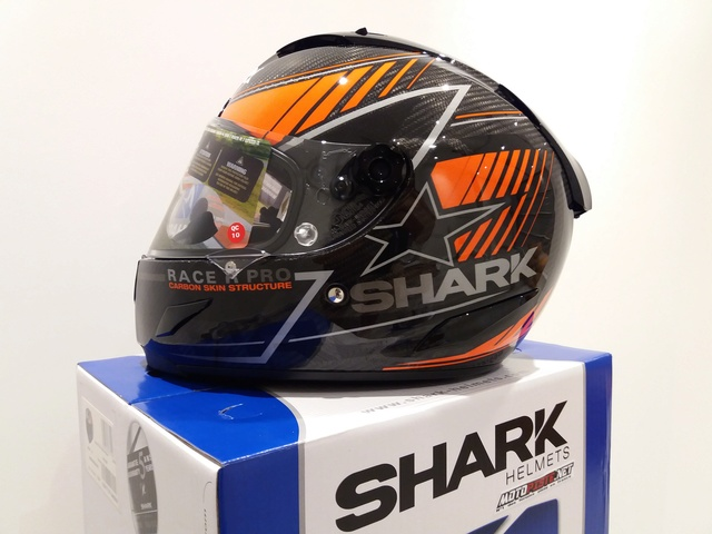 [ESSAI] Casque SHARK Race R PRO Kolov Carbone 20170754